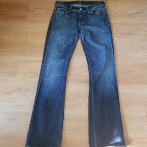 7 For all mankind  Dark wash Jeans Flynt